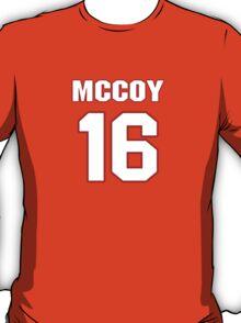 NFL Player Colt McCoy sixteen 16 T-Shirt