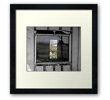 Looking In...Looking Through Framed Print