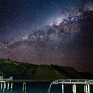 Galaxy over Old Rapid Bay Jetty by pablosvista2