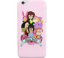 Girls Rule iPhone Case/Skin
