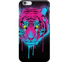 CMYK tiger iPhone Case/Skin