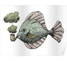 Fish Pipe Poster