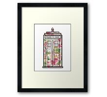 Rose TARDIS Framed Print