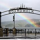 North Bend Boardwalk by Doty