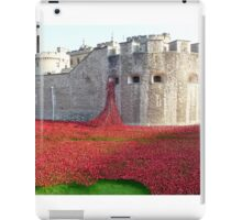 Ceramic Poppies at Tower  of London iPad Case/Skin