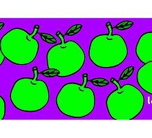 La Mela Isola - She'll Be Apples Mug by la-mela-isola