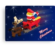 Santa is on His Way! Canvas Print