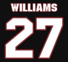 NFL Player Duke Williams twentyseven 27 by imsport