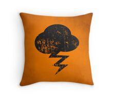 Cloud and storm Throw Pillow