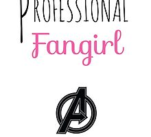 Professional Fangirl - Avengers by pinkpunk83