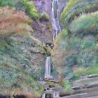 Pistyll Rhaeadr Falls by Mike Paget