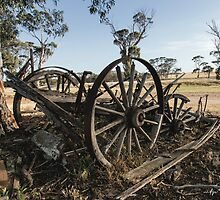 The Old Wagon by Matt Fricker Photography