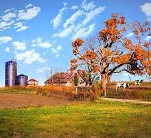 Autumn Kentucky Farm by MaryTimman