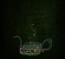 Mad for Tea by Barbora  Urbankova