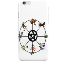 Pagan Wheel of the Year iPhone Case/Skin