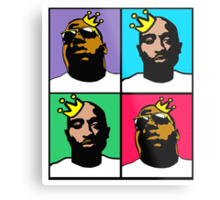 HIP-HOP ICONS: NOTORIOUS THUGS (4-COLOR) Metal Print