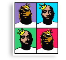 HIP-HOP ICONS: NOTORIOUS THUGS (4-COLOR) Canvas Print