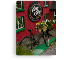 Kitty Kelly's restaurant, Donegal - tall Canvas Print