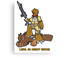Level 20 Bounty Hunter part 2 Canvas Print