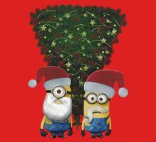 Minions christmas tree by minionsaddict