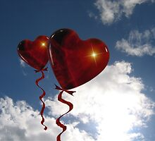 Balloon hearts  by franceslewis