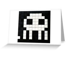Space invader  Greeting Card