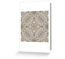 girly Rhinestone lace pearl glamorous vintage Greeting Card
