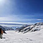 Grosser Aletschgletscher by Omar Dakhane