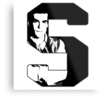 S is for Simon Metal Print