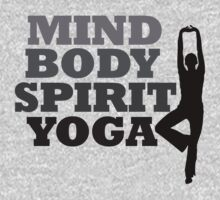 mind body spirit yoga by Boogiemonst