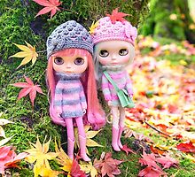 Blythes in the woods by Zoe Power