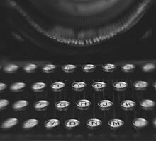 Woodstock Typewriter Study 1 by Bethany Helzer