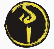 Light Bearer Symbol With Black Background by LynchMob1009
