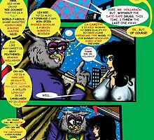Bird of Steel Comix – # 6 of 8 -  (Red Bubble POP-ART COLLECTION SERIES)  by TexWatt