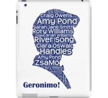 Geronimo, 11th Doctor, Doctor Who iPad Case/Skin