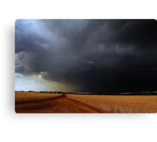 Wheatbelt Thunderstorm Canvas Print