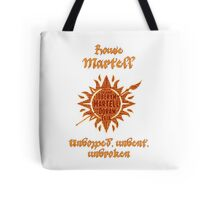 House Martell, Game of Thrones Tote Bag