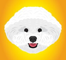 Bichon Frise by threeblackdots