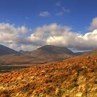 Slieve Lamagan in the Mourne Mountains by Jon Lees