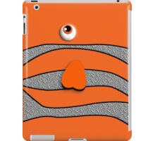 Orange ornamental fish cartoons iPad Case/Skin