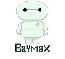 Big hero 6 baymax  chibi Photographic Print