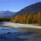 Dora Baltea river in Valle d'Aosta by annalisa bianchetti