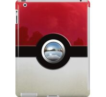 Red Pokeball iPad Case/Skin