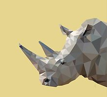 LP Rhino by Alice Protin