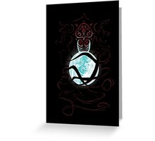 a Light in the dark Greeting Card