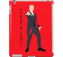 12th Doctor Peter Capaldi minimalist iPad Case/Skin