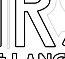 TATE LANGDON Sticker
