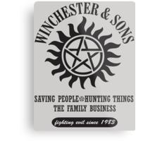 T-SHIRT SUPERNATURAL WINCHESTER & SONS Metal Print