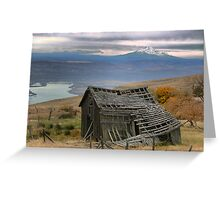 Collapsing on a View Greeting Card