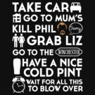 SHAUN OF THE DEAD TO TO LIST by thischarmingfan